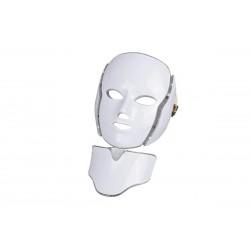 LED Μάσκα φωτοθεραπείας προσώπου 7 χρωμάτων με ΛΑΙΜΟ JM098
